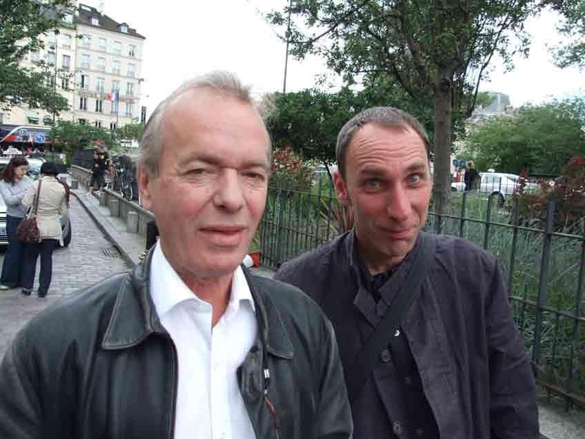 Martin Amis and Will Self