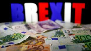 自脫歐公投後英鎊對歐元貶值 14%
