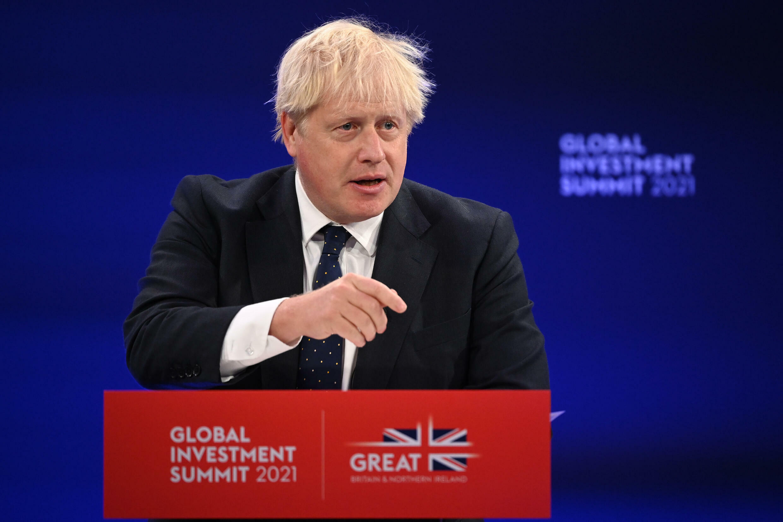 Prime Minister Boris Johnson wants sustainable investment to power Britain's economic future