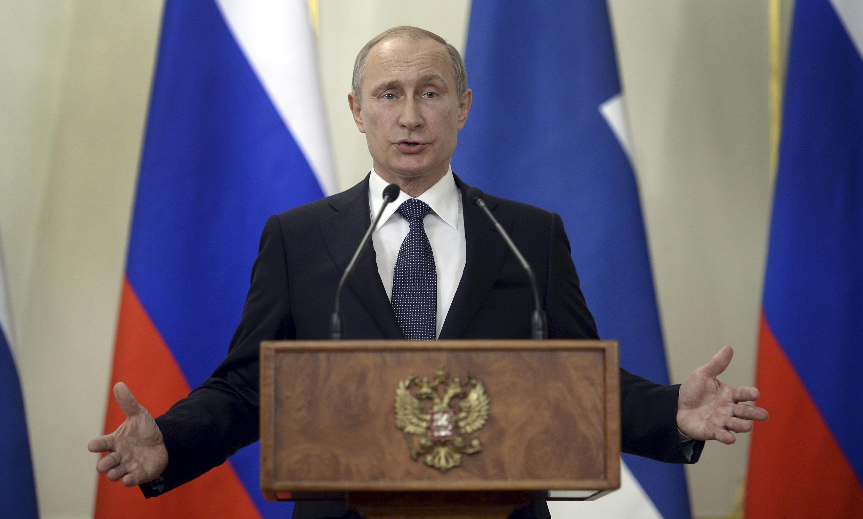Tổng thống Nga Putin đọ sức với Thụy Điển ?