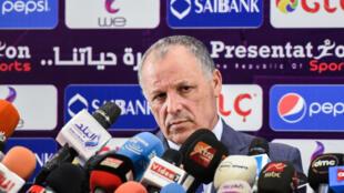 Le président de la Fédération égyptienne de football, Hany Abo Rida.