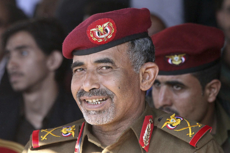 Le général Mahmoud al-Soubeihi, le 6 décembre 2014 à Sanaa.
