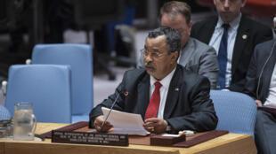 Mahamat Saleh Annadif, représentant spécial de l'ONU au Mali.