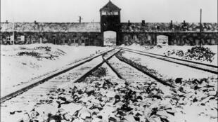 Campo de concetração de Auschwitz, na Polónia. Janeiro de 1945.