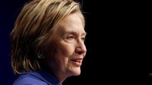 Hillary Clinton, l'ancienne candidate à la Maison Blanche, le 16 novembre 2016, à Washington.