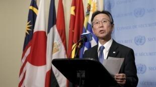 Đại diện Nhật Bản tại Liên Hiệp Quốc, ông Motohide Yoshikawa ngày 06/01/2016.