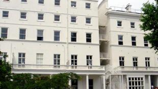 Le bâtiment Maurois (section britannique) du lycée français Charles de Gaulle à Londres.