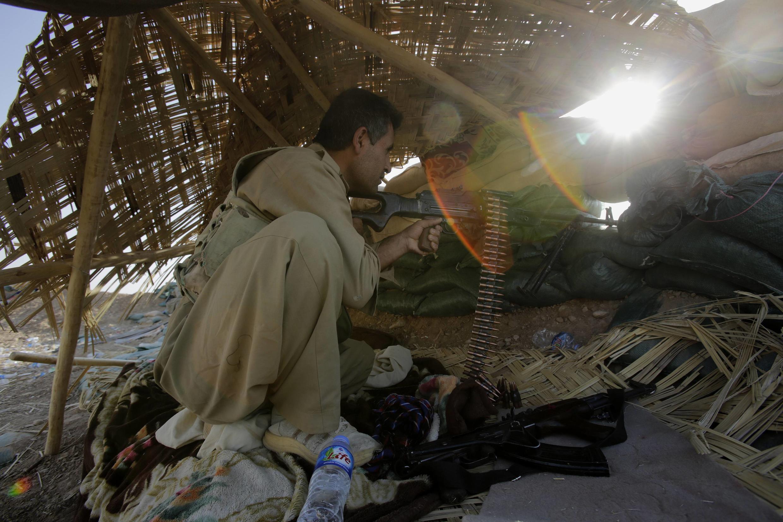 Курдский военный, 29 августа 2014 г.