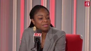 Cina Lawson, ministre des Postes et de l'Economie Numérique du Togo.
