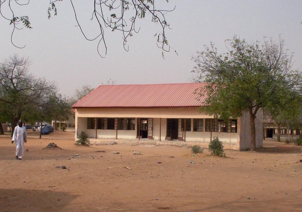 Makarantar Sakandaren mata na Dapchi dake jihar Yobe a Najeriya.