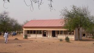 圖為尼日利亞遭博科聖地恐怖組織襲擊的尤比州達普奇鎮政府科技學院。