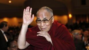 O Dalaï Lama, 5/2/15, em Washington.