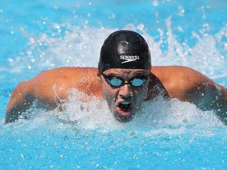 O nadador Thiago Pereira