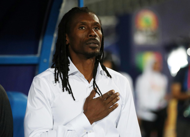 Aliou Cissé, sélectionneur du Sénégal.