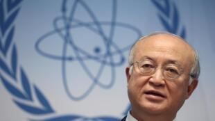 国际原子能机构总干事天野之弥。