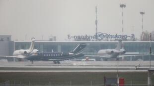 莫斯科伏努科沃機場2014年10月21日。