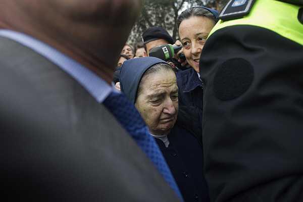 La monja española María Gómez Valbuena.
