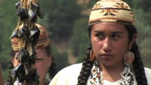 Women from the Winnemem Wintu tribe