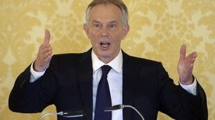 Former British Prime Minister Tony Blair delivers a speech following the publication of The Iraq Inquiry Report by John Chilcot, London on 6 July, 2016.