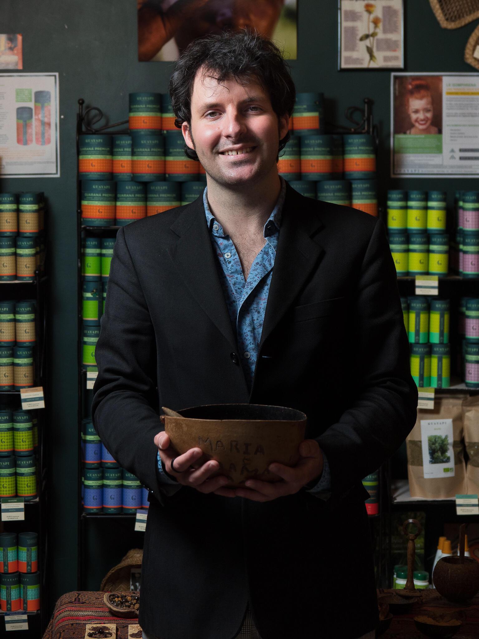 Bastien Beaufort, diretor da Guayapi.