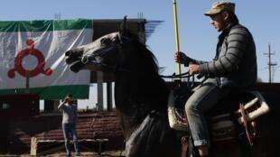 Акция протеста против изменения административной границы продолжается в Магасе уже две недели
