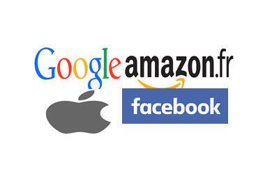 Les Gafa regroupe : Google, Amazon, Facebook, Apple