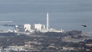 日本东京电力公司福岛第1核电厂外观。