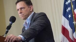 Peter Thiel devant le National Press Club de Washington, le 31 octobre 2016.