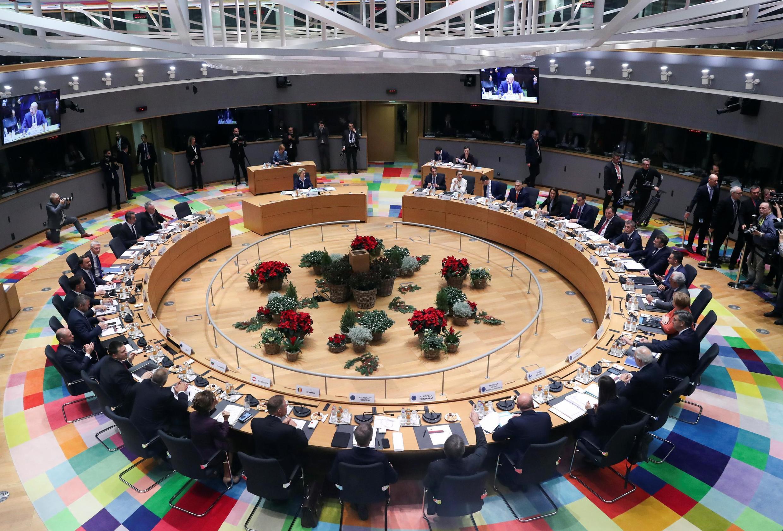 Sommet du Conseil européen à Bruxelles, le 12 décembre 2019.
