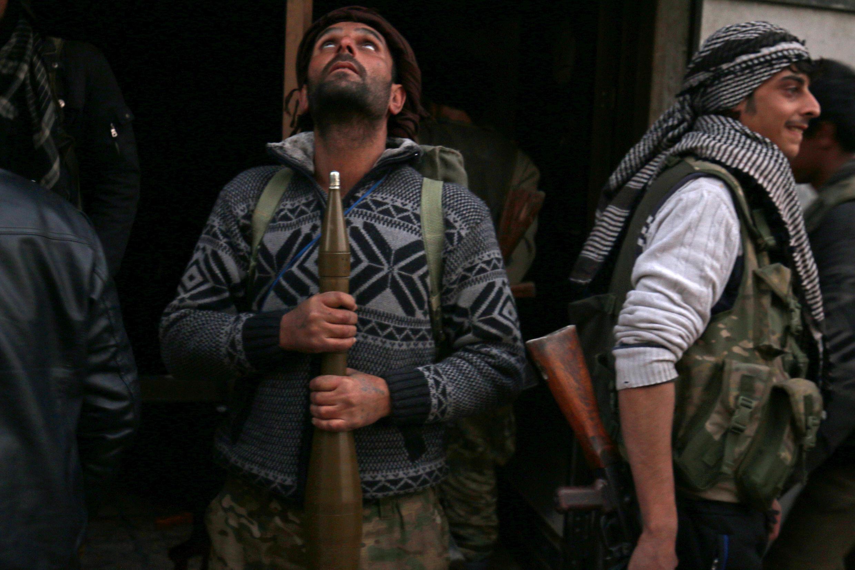 Повстанец в Алеппо, 8 декабря 2016 г.