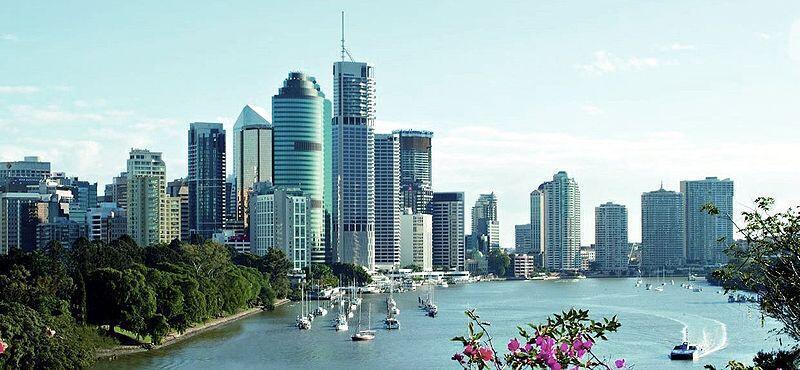 L'Australie est une des trois destinations préférées pour l'expatriation pour une vie moins stressante, une meilleure qualité de vie et pour la météo et le coût de la vie. (Photo : Vue de Brisbane, en Australie)