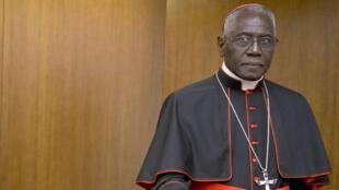 Le cardinal Robert Sarah, en octobre 2015.