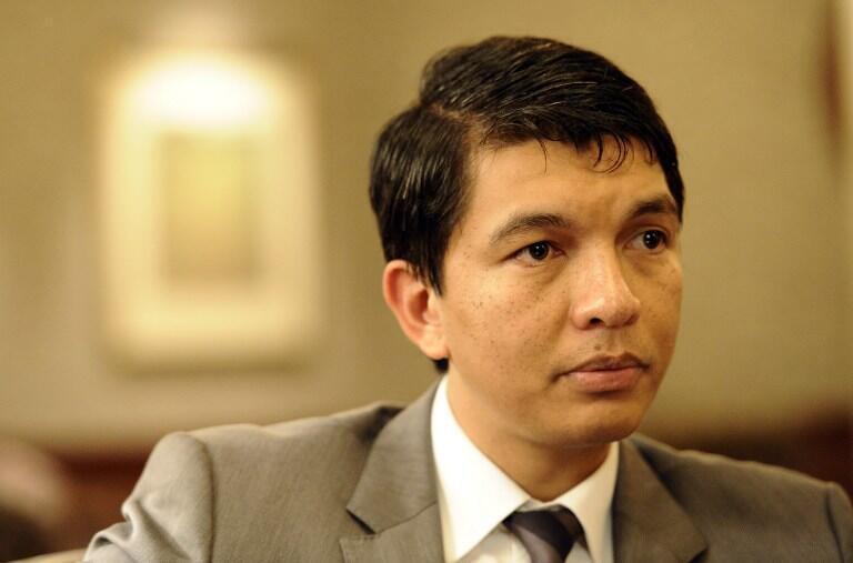 Andry Rajoelina, président malgache de la transition.