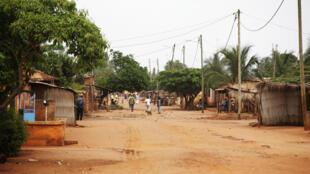 Un village togolais.
