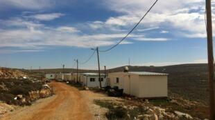 L'avant-poste d'Esh Kodesh, en Cisjordanie.