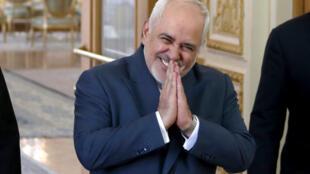 Le ministre iranien des Affaires étrangères Javad Zarif a annoncé le rapatriement du scientifique Cyrous Asgari, le 2 juin 2020.