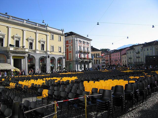 Festival do filme de Locarno, Suíça.