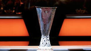 Troféu da Liga Europa.