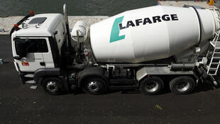 French-Swiss cement giant LafargeHolcim has said it would supply materials for the wall US President Donald Trump has proposed to build along the US-Mexico border.