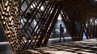 """""""Resilient Communities"""" by Andrew Barrie, Paola Boarin, Michael Davis, Kathy Woghorn, on display at Italy's pavilion"""