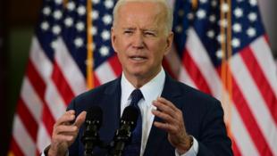 美国总统拜登在世界地球日举办全球气候峰会