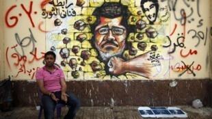 O presidente egípcio Mohamed Morsi contestado nas ruas do Cairo