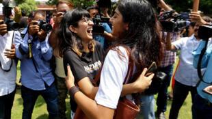 فعالان حقوق دگرباشان جنسی، صدور حکم لغو مجازات این گروه از افراد در هند را مورد استقبال قرار دادند.
