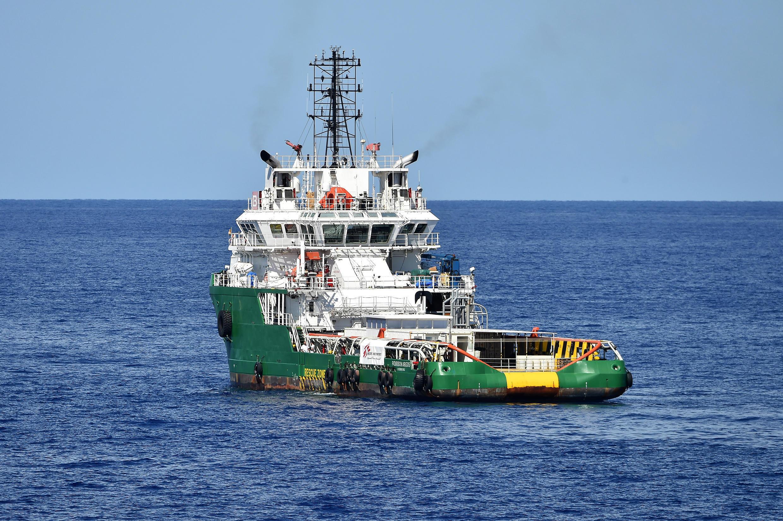 存档图片:医生无疆界组织曾于2015年租用过的一艘地中海难民救援船
