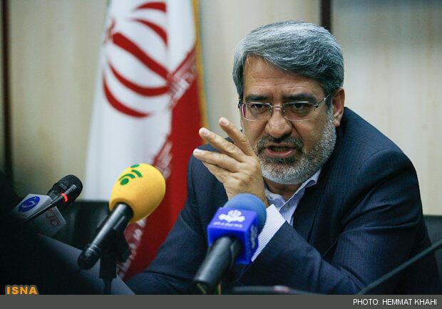 عبدالرضا رحمانی فضلی وزیر کشور جمهوری اسلامی ایران