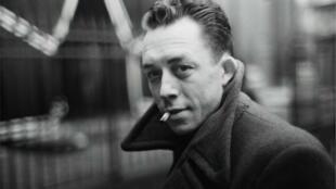 法国文学家和思想家加缪1957年获得诺贝尔文学奖.