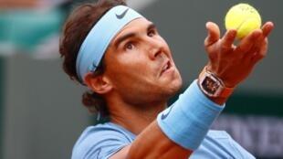 Rafael Nadal, este 24 de mayo de 2016 en Roland Garros.