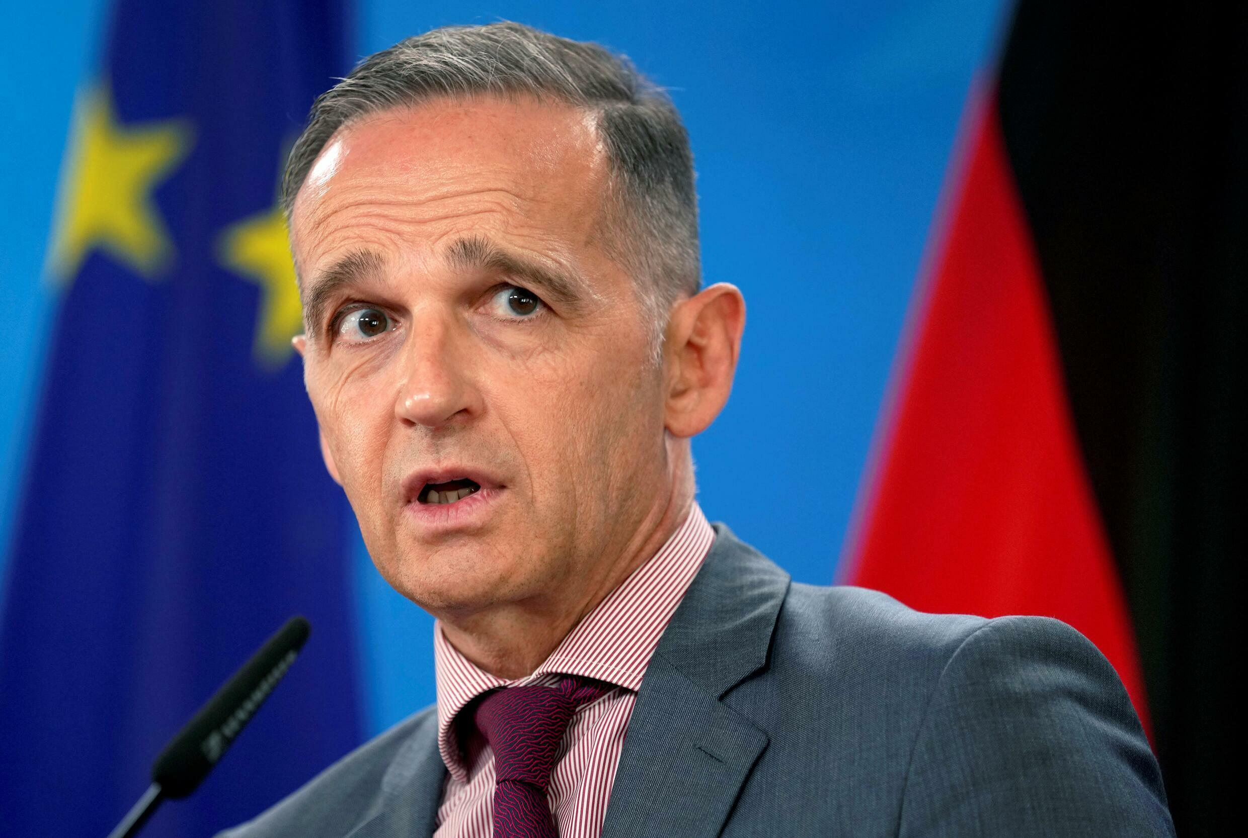 German Foreign Minister Heiko Maas said the choice of an alliance partner as a spy is 'absolutely unacceptable.'
