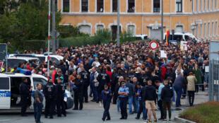 Biểu tình chống người nhập cư tại Chemnitz, Đức, ngày 30/08/2018