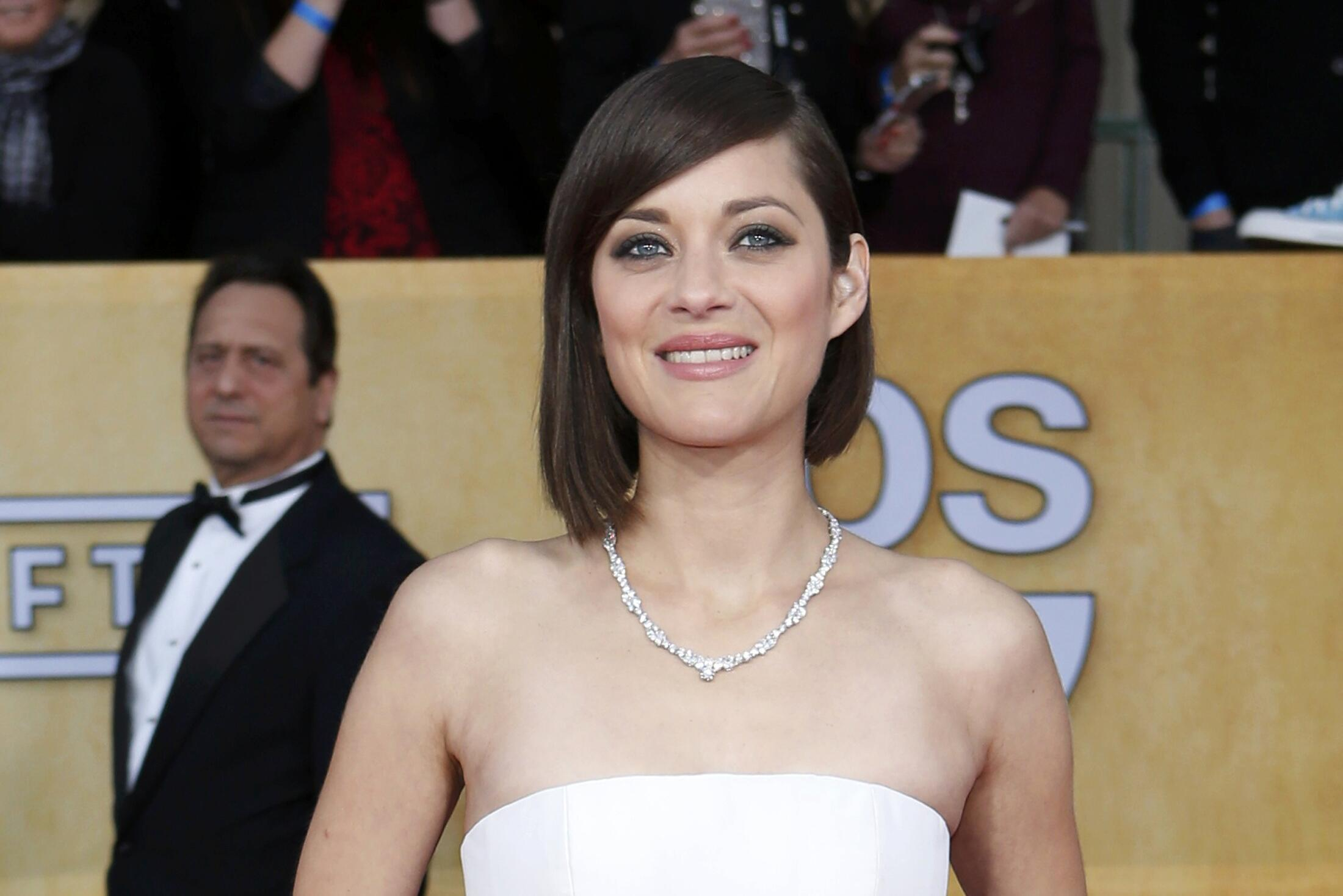 """A atriz francesa Marion Cotillard foi indicada ao César pela sua atuação no filme """"Ferrugem e Osso""""."""